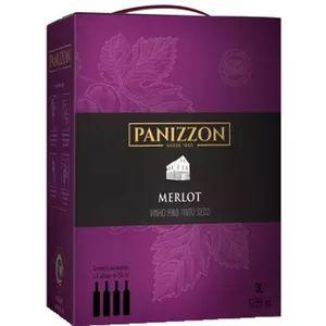 Vinho Panizzon Merlot Bag in Box 3 Litros