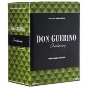 Vinho Don Guerino Chardonnay Bag in Box 3 Litros
