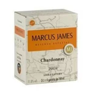 Vinho Marcus James Chardonnay Bag in Box 3 Litros