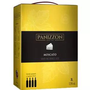 Vinho Panizzon Moscato Bag in Box 3 Litros