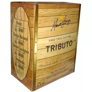 Vinho Tributo Marco Luigi Tempranillo Bag in Box 5 Litros