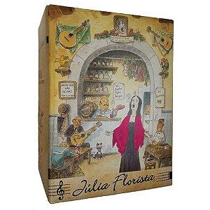 Vinho Julia Florista Tinto Meio Seco Bag in Box 5 Litros