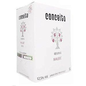 Vinho Conceito Reserva Malbec Bag in Box 5 Litros