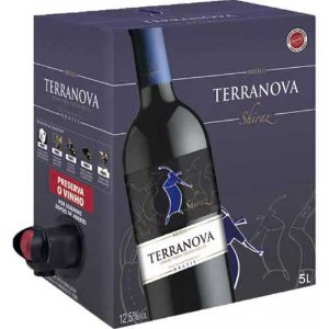 Vinho Terranova Shiraz Bag in Box 5 Litros