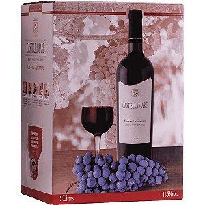 Vinho Castellamare Cabernet Sauvignon 5 Litros
