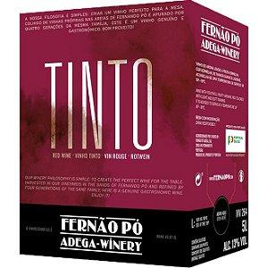Vinho Fernão Pó Bag In Box Tinto 5 Litros
