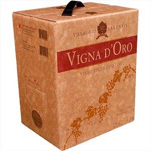 Vinho Vigna Doro Cabernet Sauvignon Bag In Box 4 Litros