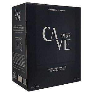 Vinho Cave 1957 Campanha Gaúcha Bag in Box 3 Litros - Pré-Venda