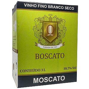 Vinho Boscato Moscato Bag in Box 3 Litros