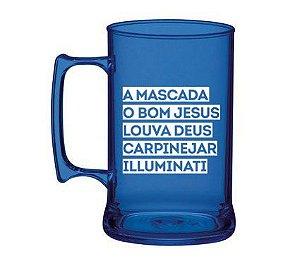 Caneca PB 450ml - Mascada Illuminati
