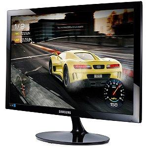 "MONITOR GAMER SAMSUNG 24"" LED FULL HD 75HZ 1MS HDMI D-SUB - LS24D332HSX/ZD"