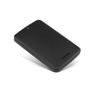 HD EXTERNO 1TB TOSHIBA CANVIO BASICS PRETO 2,5 PORTATIL USB 3.0 HDTB310XK3AA