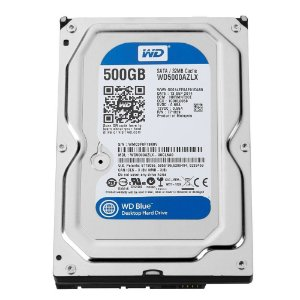 HD DESKTOP 500GB WD5000AZLX BLUE 7200RPM 32MB SATA 6