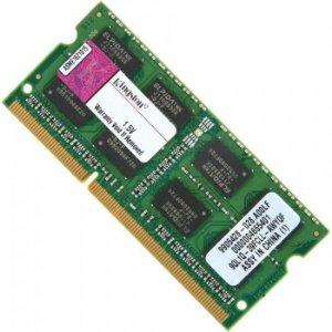 MEMORIA NOTEBOOK DDR3 4GB 1333 MHZ KVR13S9S8/4G KINGSTON