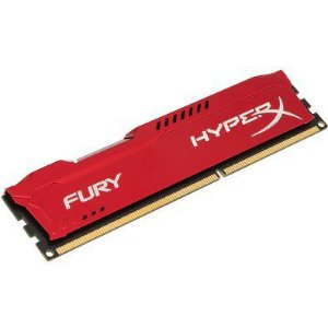 MEMORIA DESKTOP DDR3 4GB 1866 MHZ HX318C10FR/4 HYPER X FURY RED KINGSTON
