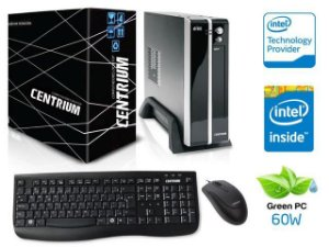 COMPUTADOR CENTRIUM THINLINE 3060 INTEL DUAL CORE J3060 4GB 500GB