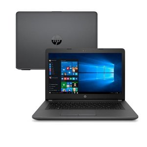 NOTEBOOK HP CM 246G6 CORE I3 6006U 4GB DDR4 500GB WIN10 PREFESSIONAL 14 PRETO