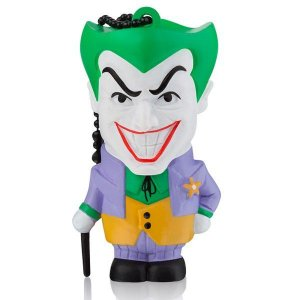 PEN DRIVE 8GB USB 2.0 MULTILASER DC COMICS CORINGA PD088