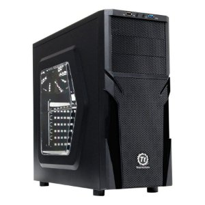 GABINETE GAMER THERMALTAKE VERSA H21 CA1B200M1WN04 WINDOW PRETO