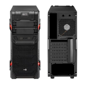 GABINETE GAMER AEROCOOL GT WINDOW BLACK