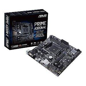 PLACA MAE ASUS PRIME A320M-K/BR DDR4 AM4 AMD RYZEN