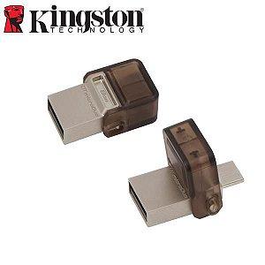 PEN DRIVE 16GB KINGSTON DT MICRO DUO USB 3.0 OTG SMARTPHONE