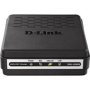 MODEM ADSL2+ D-LINK DSL2500E PRETO