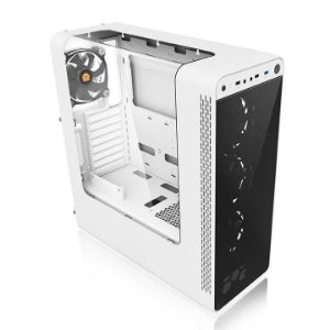 GABINETE GAMER TT VIEW 27 SNOW WIN/SGCC/FAN 12*4 WHITE CA-1G7-00M6WN-WT