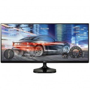 MONITOR LED 25 LG 25UM58 ULTRA WIDE IPS FHD CINEMA SCREEN HDMI HEADPHONE OUT VESA