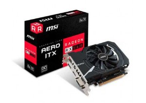 PLACA DE VIDEO MSI RADEON RX 560 AERO ITX 4GB OC 128 BITS