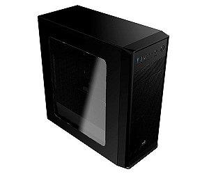 GABINETE AEROCOOL ATX SI-5100 COM ACRILICO USB 3.0 PRETO EN58348