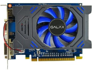 PLACA DE VIDEO GALAX GEFORCE GT730 2GB DDR3 128 BITS GALAX 73GPH4HXB2TV