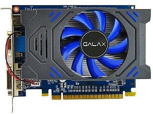 PLACA DE VIDEO GALAX GEFORCE GT730 2GB DDR3 128 BITS GALAX 73GPH4HXB2TV