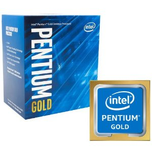 PROCESSADOR INTEL PENTIUM GOLD G5400 3.7GHZ 3MB LGA1151 COFFEE LAKE
