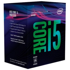 PROCESSADOR INTEL CORE I5-8400 2.8GHZ 9MB LGA 1151 COFFEE LAKE