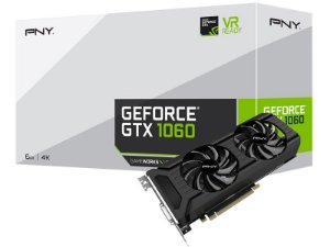 PLACA DE VIDEO PNY GEFORCE GTX 1060 6GB DDR5 VCGGTX10606PB