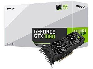 PLACA DE VIDEO PNY GEFORCE GTX 1060 6GB DDR5 VCGGTX10606PB