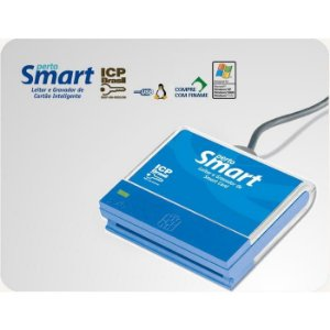 LEITOR DE CERTIFICADO DIGITAL A3 PERTO SMART PS1000 USB
