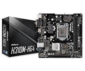PLACA MAE ASROCK H310M-HG4 DDR4 LGA 1151