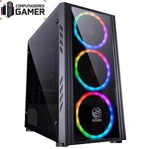 COMPUTADOR GAMER MK i7 8700 16GB DDR4 SSD 480GB GEFORCE GTX 1660 6GB SATURN FONTE 600W