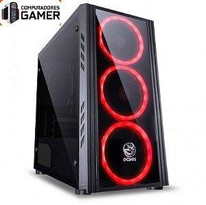 COMPUTADOR GAMER MK i5 8400 8GB DDR4 SSD 480GB GEFORCE GTX 1660 6GB SATURN FONTE 500W