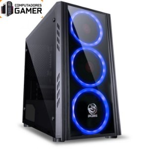 COMPUTADOR GAMER MK i7 8700 16GB DDR4 SSD 240GB HD 1TB GEFORCE GTX 1660TI 6GB SATURN FONTE 600W