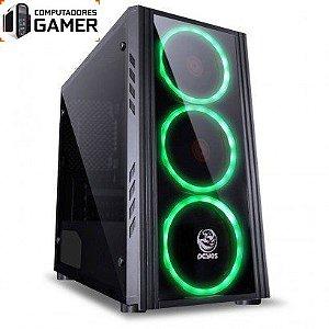 COMPUTADOR GAMER MK INTEL i5 9400F 8GB DDR4 SSD 480GB GEFORCE GTX 1650 4GB SATURN FONTE 500W