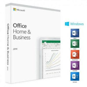 LICENCA OFFICE HOME AND BUSINESS 2019 FPP BRAZILIAN 32/64 BITS - T5D-03241