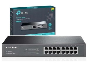 SWITCH 16P GIGABIT 10/100/1000 TL-SG1016D TP-LINK RACK