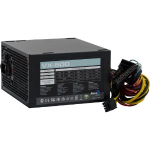 FONTE ATX 500W AEROCOOL VX-500 BOX S/CABO