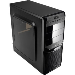 GABINETE GAMER AEROCOOL V3X WINDOW BLACK PRETO