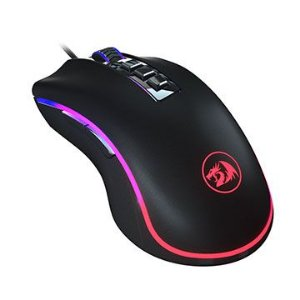 MOUSE GAMER REDRAGON KING COBRA PRETO LED RGB - M711-FPS