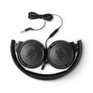 FONE HEADSET JBL ON EAR TUNE 500 PRETO