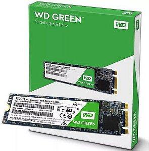 SSD 120GB WD GREEN M.2 2280 WDS120G2G0B 2.5
